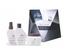L'ALGA Набор для ежедневного ухода (шампунь 250 мл, маска 250 мл, спрей термозащитный 100 мл) Seazone kit
