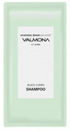 Набор для волос: Шампунь АЮРВЕДА EVAS VALMONA Ayurvedic Scalp Solution Black Cumin Shampoo, 10мл*50 шт