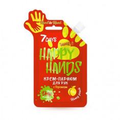 7 Days, Крем-парфюм Happy Hands, Hand in Hand, 25 г