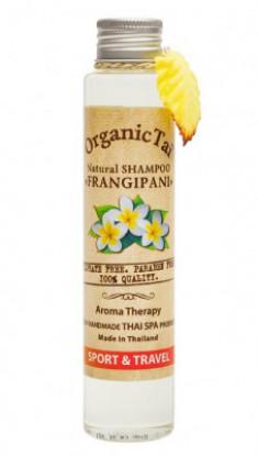 Шампунь безсульфатный с маслом франжипани ORGANIC TAI Natural Shampoo Frangipani 100 мл