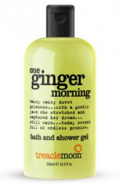 Гель для душа бодрящий имбирь Treaclemoon One Ginger Morning Bath & Shower Gel 500 мл