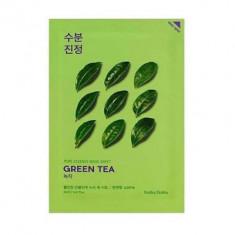 Маска тканевая противовоспалительная Holika Holika PURE ESSENCE зеленый чай 20 мл