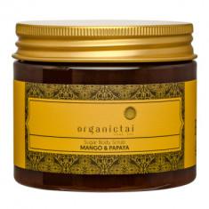 Скраб для тела на основе тростникового сахара с экстрактом манго и папайи ORGANIC TAI Sugar Body Scrub Mango & Papaya 200 мл