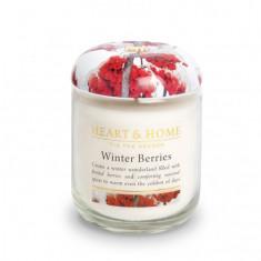 Heart&Home, Свеча «Зимние ягоды», маленькая, 110 г