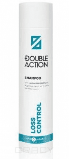 Шампунь против выпадения волос HAIR COMPANY Double Action LOSS CONTROL SHAMPOO 250мл