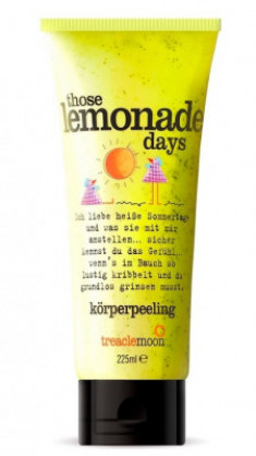 Скраб для тела домашний лимонад Treaclemoon Those Lemonade Days Body Scrub 225 мл