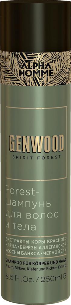 ESTEL PROFESSIONAL Шампунь для волос и тела / GENWOOD Forest 250 мл