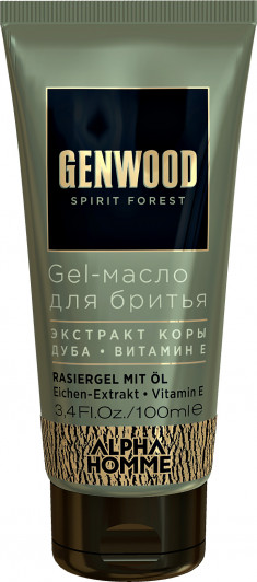 ESTEL PROFESSIONAL Гель-масло для бритья / GENWOOD Gel 100 мл