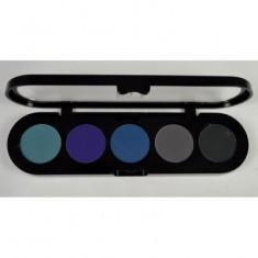 Подводка компактная (сухая), цветная палитра Make-Up Atelier Paris TE20 10 г