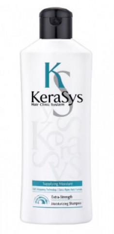Шампунь увлажняющий для сухих и ломких волос KeraSys 180 мл