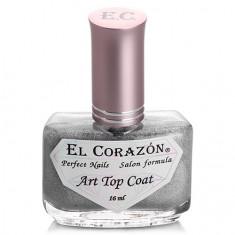 El Corazon, Топ Art Top Coat №421/23 Holography rainbow, 16 мл