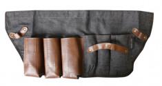 HAIRWAY Сумка-фартук Barber джинсовый, размер 59*25 см