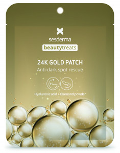SESDERMA Маска-патч под глаза / BEAUTY TREATS 24K Gold patch 2 шт
