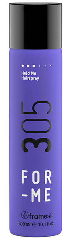 FRAMESI Лак неаэрозольный для волос / FOR-ME 305 HOLD ME HAIRSPRAY 300 мл