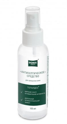 DOMIX Средство антисептическое для обработки кожи рук, спрей 100 мл DOMIX GREEN PROFESSIONAL
