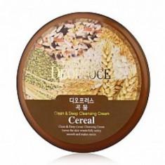крем для лица очищающий зерновой deoproce premium clean & deep cereal cleansing cream