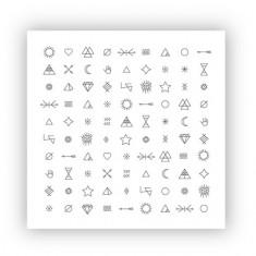 ONIQ, Слайдер-дизайн Transfer, Tattoo №4