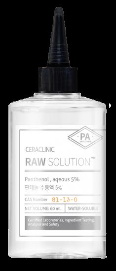 EVAS Сыворотка универсальная для волос и кожи Пантенол / CERACLINIC Raw Solution Panthenol, aqeous 5% 60 мл