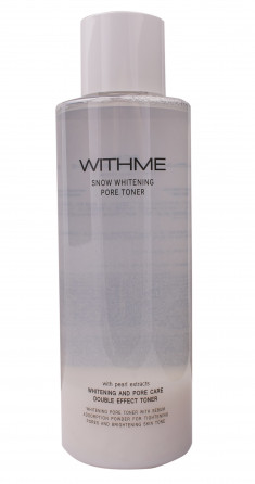 EVAS Тонер осветляющий для лица / WITHME Snow Whitening Pore Toner 500 мл
