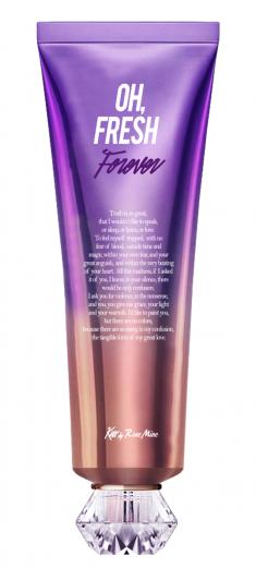EVAS Крем для тела Цветочный аромат ириса / Kiss by Rosemine Fragrance Cream - Oh, Fresh Forever 140 мл
