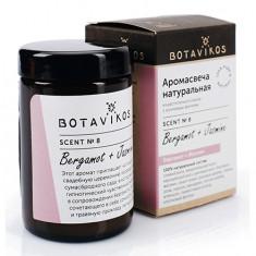 Botavikos, Аромасвеча «Бергамот-жасмин», 90 г