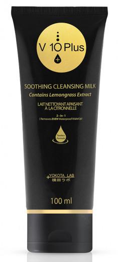V10 PLUS Молочко очищающее успокаивающее для лица / Soothing Cleansing Milk 100 мл