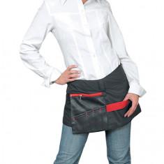 Dewal, Юбка-пояс для инструментов, нейлон, черная с красной вставкой