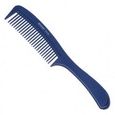 Dewal, Расческа с ручкой, синяя, 22 см
