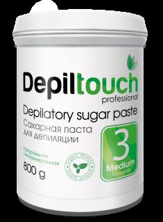 DEPILTOUCH PROFESSIONAL Паста сахарная средняя / Depiltouch professional 800 г