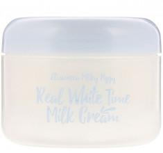 ELIZAVECCA Крем осветляющий для лица и тела Козье молоко / Real White Time Milk Cream 100 г