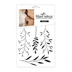 Miami Tattoos, Переводные мини-тату Branch, 1 лист