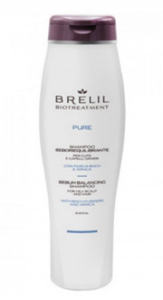 Шампунь для жирных волос BRELIL BIOTREATMENT PURE SEBO BALANCING Shampoo 250мл