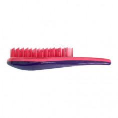 Clarette, Щетка для распутывания волос, розовая с фиолетовым