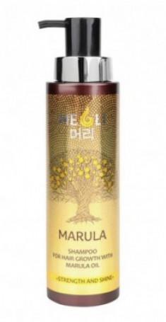 """Шампунь для роста волос с маслом Марулы MEOLI """"Сила и блеск"""" 400мл"""