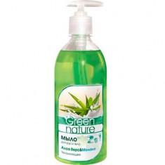 Мыло для рук и тела Алоэ вера молоко Green Nature FLORALIS