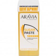 Сахарная паста для депиляции в картридже Медовая очень мягкой консистенции Aravia