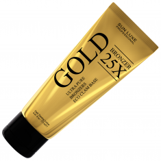 Sun luxe, gold bronzer, 25x, мгновенный бронзатор класса люкс, 125 мл