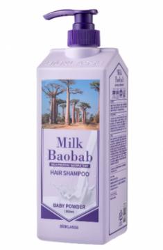 Шампунь для волос с ароматом детской присыпки Milk Baobab Original Shampoo Baby Powder 1000мл