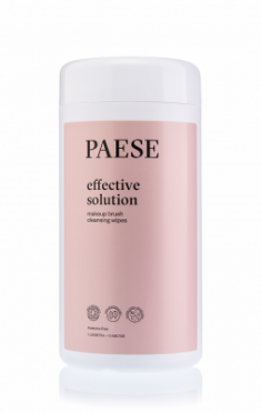 Салфетки для очищения кистей PAESE brush cleanser wipes 120 шт