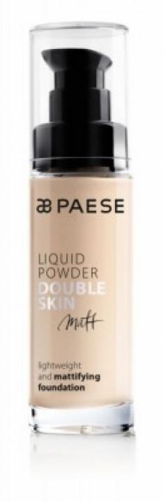 Тональный крем для жирной и комбинированной кожи Paese Matt Liquid Powder Double Skin тон 20 М