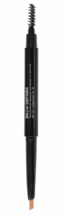 Механический карандаш для бровей со щеточкой CC Brow Brow Definer light brown