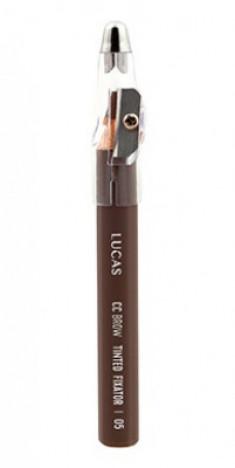Восковый карандаш для бровей CC Brow TINTED WAX FIXATOR 05 русый