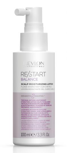 REVLON PROFESSIONAL Лосьон увлажняющий кожу головы / RESTART BALANCE SCALP MOISTURIZING LOTION 100 мл