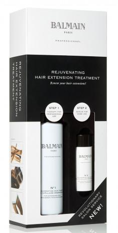 BALMAIN Набор Восстанавливающий уход для наращенных волос (лосьон 250 мл, омолаживающая сыворотка 50 мл, миска)