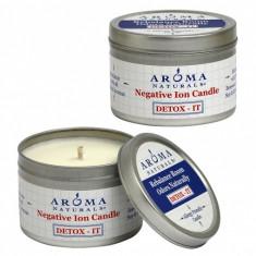 Aroma Naturals Свеча Детокс 80 г банка
