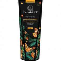 President Limited Edition Зубная паста Хвойный мандарин 75мл
