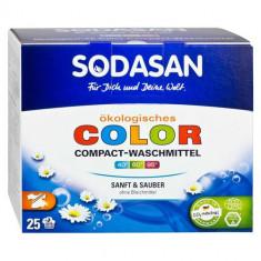 SODASAN Стиральный порошок-концентрат для стирки изделий из цветных тканей 1,2 кг