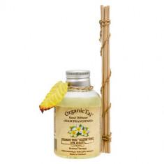 OrganicTai Аромадиффузор Сиамский франжипани с тростниковыми палочками 100мл