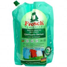 Frosch Универсальное жидкое средство для стирки цветного белья 2л