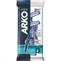 Arko MEN Станок для бритья T2 PRO 2 лезвия 3шт